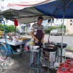 亚罗士打美食: Jalan Teluk Wanjah炸糕