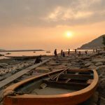 大澳渔村:日落黄昏