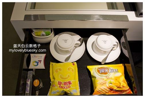 免费零食和茶包