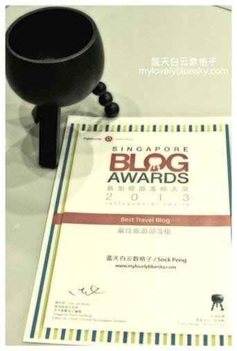2013年新加坡部落格大奖