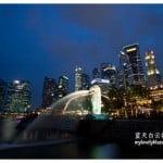 新加坡旅游:鱼尾狮公园 Merlion Park