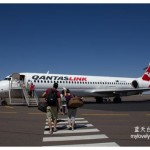 Qantas Airways : Darwin (DRW)- Alice Springs (ASP) -Ayers Rock (AYQ)