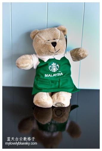 Starbucks Bearista Bear Malaysia 2013