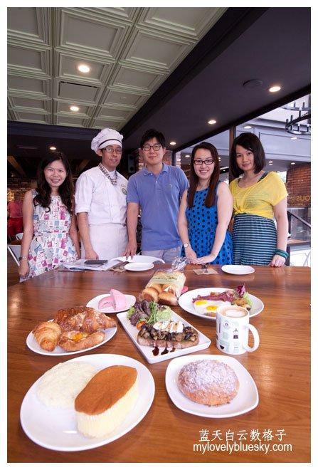 吉隆坡美食: TOUS les JOURS