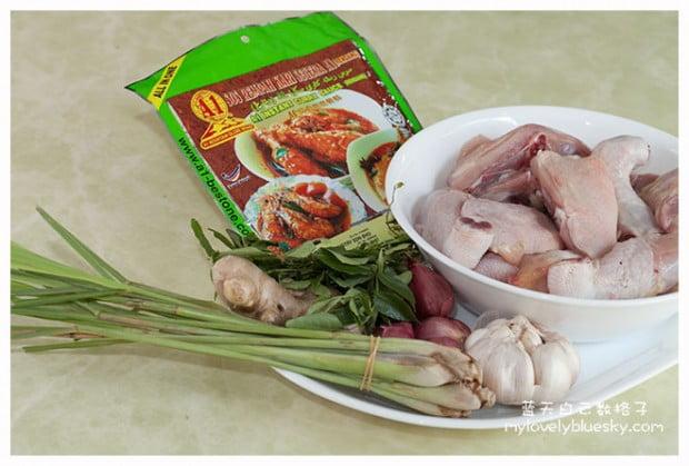 A1 冷当咖喱鸡酱料