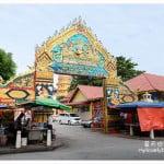 槟城旅游:缅佛寺 Burmese Buddhist Temple & 泰佛寺 Wat Chaiya Mangalaram