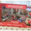生日礼物:Johnny Lighting Coca-Cola Poster Car Collection