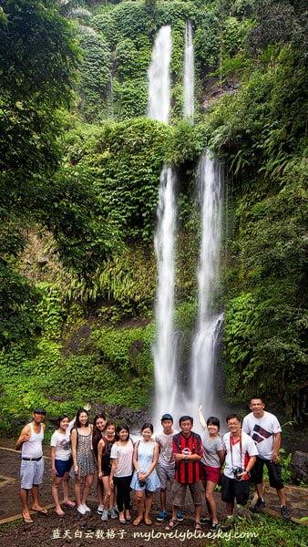 Lombok-Sendang-Gile-Waterfall-Group-photo