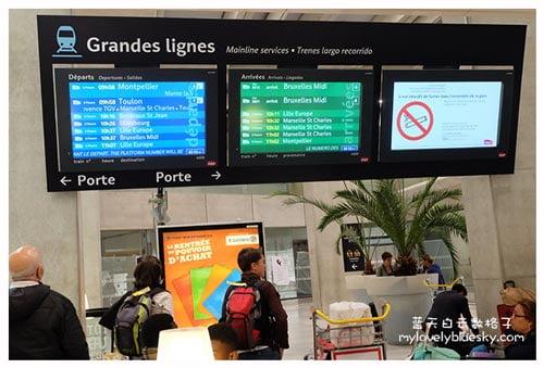 坐火车去旅行:巴黎-布鲁塞尔-巴黎-尼斯-巴黎