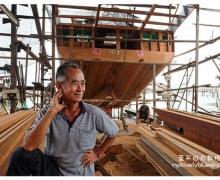 霹雳邦咯岛旅游 : 吴文光船厂