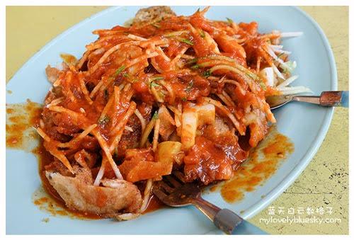 槟城美食:旧关仔角美食广场 Kompleks Makanan Renong Padang Kota Lama