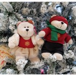 Stabucks Christmas Bearista Bear Year 2014 + Starbucks Drive Thru Tanjung Tokong