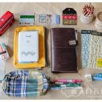 手帐:Midori Travelers Notebook 1 周年