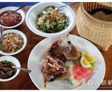 印尼雅加达 Jakarta美食:Bebek Bengil Dirty Duck Diner