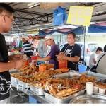北海美食:信达花园现炸海鲜/小食炸糕