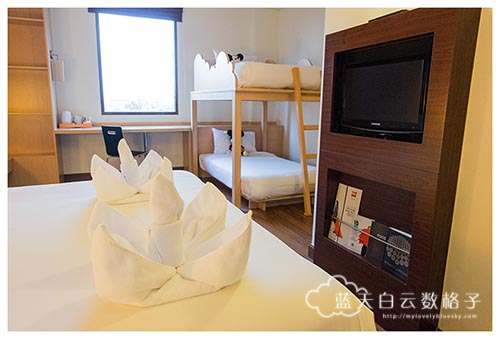 Family Room - 1 Double bed, 1 Bunk bed,