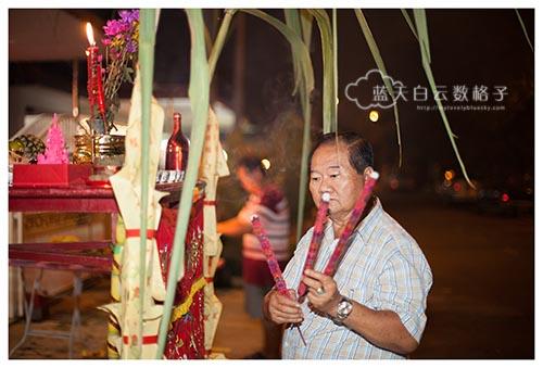 2015年农历新年:准备拜天公