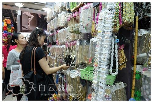 泰国曼谷购物:Pratunam Market 水门市场