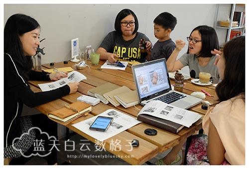 Bear dot Com《动手做属于你的手账本》Workshop 与蓝天白云数格子《如何开启你的手账之路》分享会