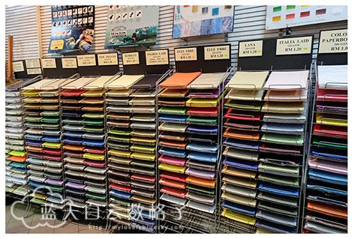 吉隆坡购物:Nanyang Art Supplies 南洋美术