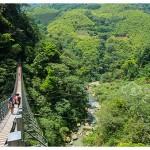 台湾南投旅游:竹山天梯(梯子吊桥)