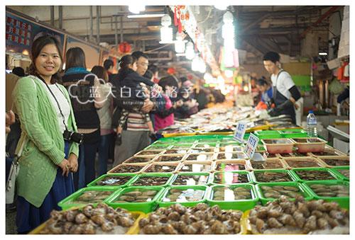 南寮渔港吃不停