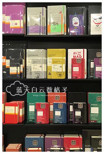 新加坡文具购物:MOLESKINE @ ION Orchard