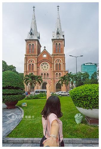 胡志明市红教堂