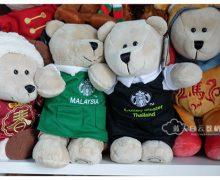星巴克店员围裙秘密 | Starbucks Bearista Bear Coffee Master
