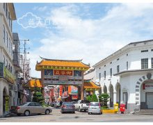 砂拉越古晋旅游 : 海唇街 (Main Bazaar) 、印度街 (India Street) 和 亚答街 (Carpenter Street)