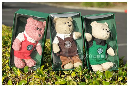 星巴克店员围裙秘密:Starbucks Bearista Bear Limited Edition 2016