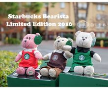星巴克店员围裙秘密 | Starbucks Bearista Bear Limited Edition 2016