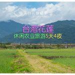 台湾花莲休闲农业旅游5天4夜(文末送出5本富里手绘笔记书)