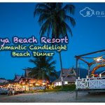 Paya Beach Resort:  Romantic Candlelight Beach Dinner