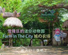 Farm In The City 城の农场 – 雪隆区的迷你动物园是家庭游和学校团游的好推荐