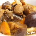 萝卜香菇焖鸡肉