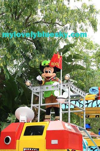 animal kingdom parade