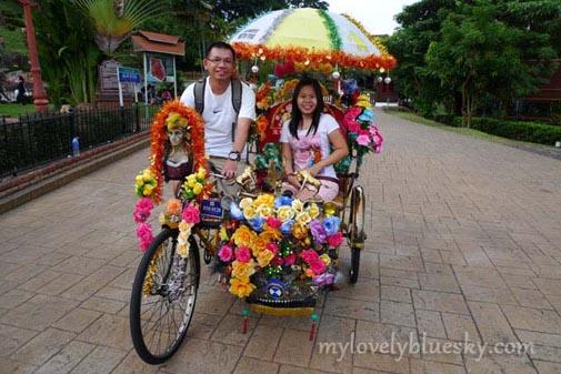 马六甲交通篇:三轮车