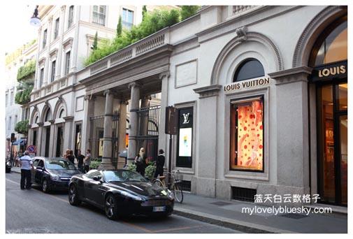 蒙特拿破仑大街(Via Montenapoleone)
