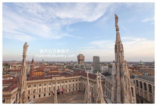 Duomo米兰大教堂屋顶