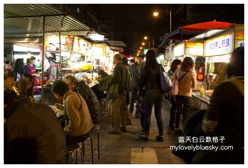 台北:宁夏夜市