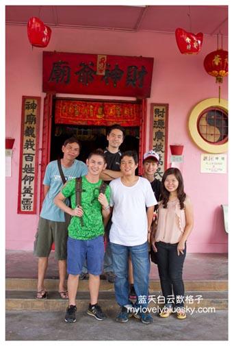 吉打西岭旅游 : 财神爷庙