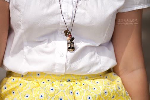 Dainty Closet - Birdcage Necklace