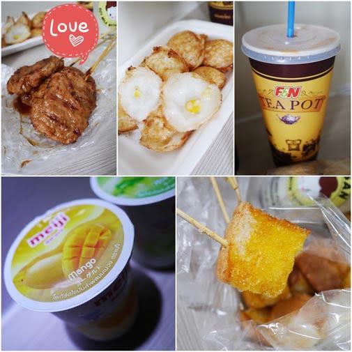 泰国曼谷美食:街边小吃