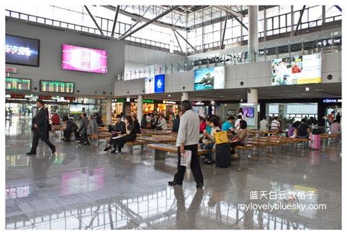 京釜线(首尔站-高速列车KTX-釜山站)