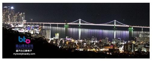 釜山城市旅游巴士 -金莲山
