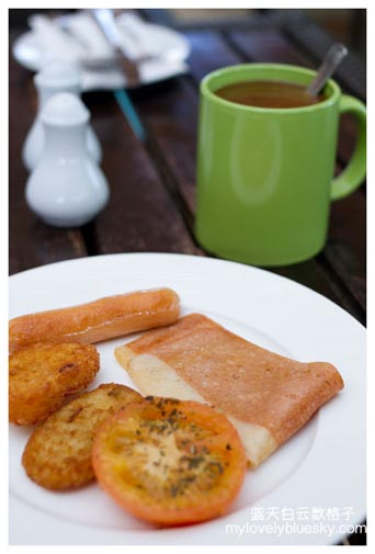 Terrace Cafe's Breakfast