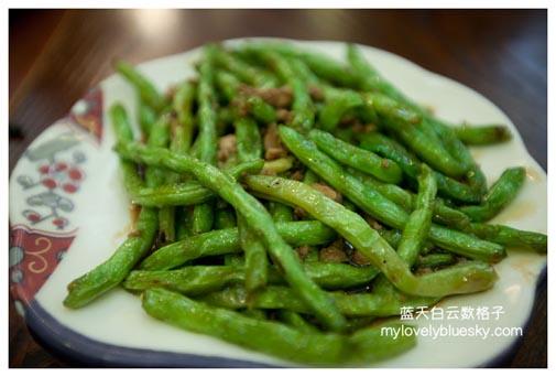 虾米炒蛇豆