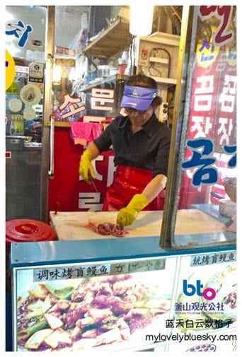 海云台市场-海鳗