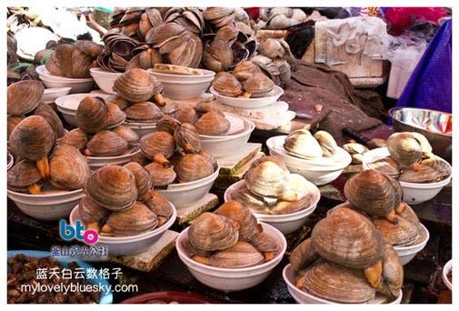 札嘎其市场 Jagalchi Market